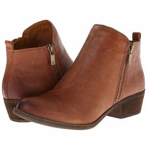 Lucky Brand Ankle Bootie - Tan Size 10